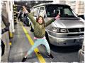 Markus G. unterwegs mit seiner Tochter im Reisemobil von BulliHoliday!