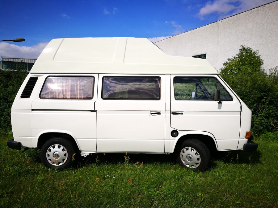 BulliHoliday Campingmobil mieten Lissy - Seitenansicht 2