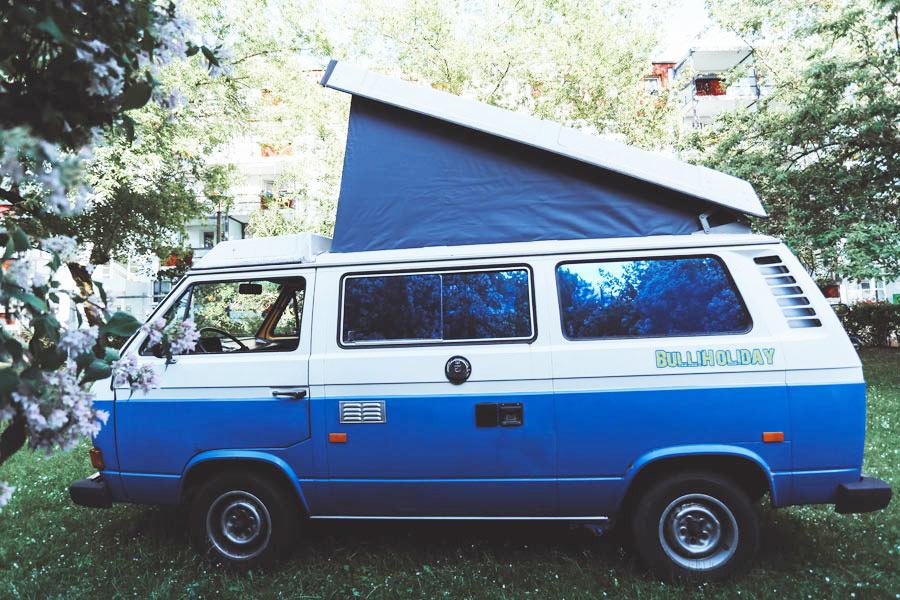 VW Bus mieten Blumo