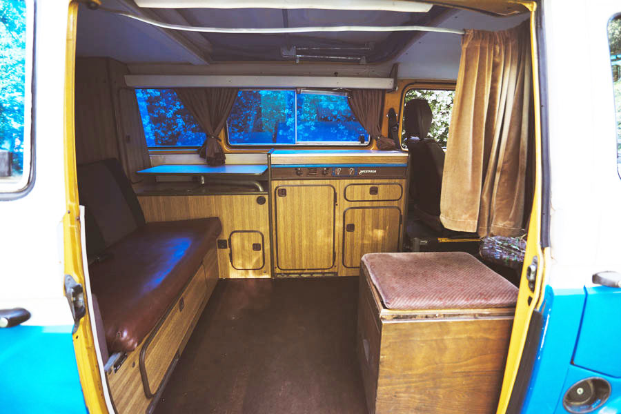 BulliHoliday VW Bus mieten Blumo - Wohnraum 2