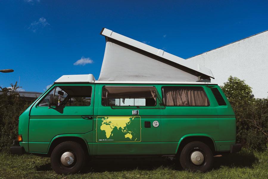 VW Camper mieten Perle
