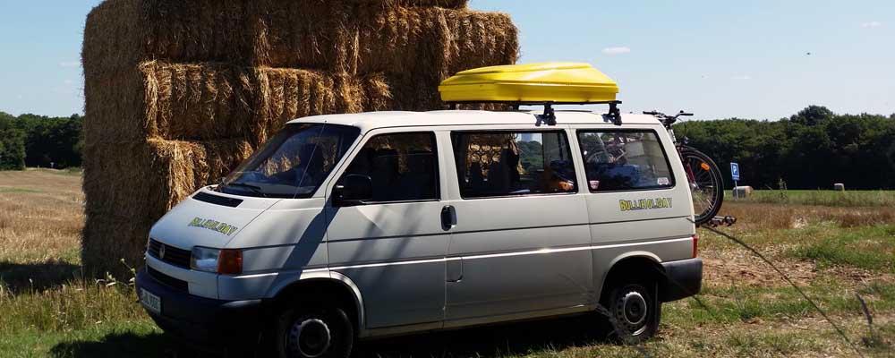 Bulli in Berlin mieten<br>und raus zum Camping
